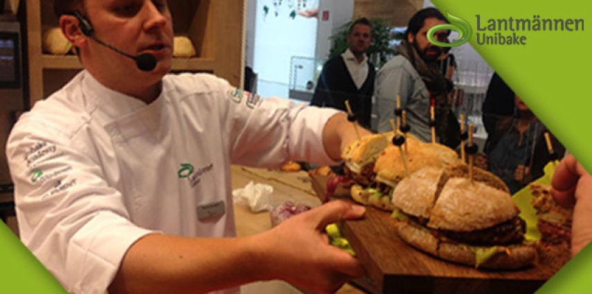 Direttamente dall'Anuga gli Speciali Hamburger Gourmet